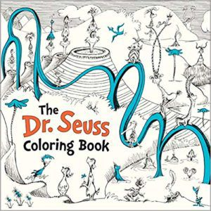 The Dr Seuss Coloring Book