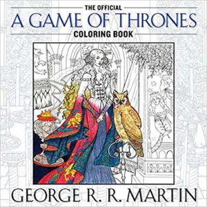 The Official Game Of Thrones Coloring Book