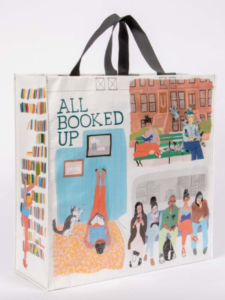 All Booked Up Shopping Bag