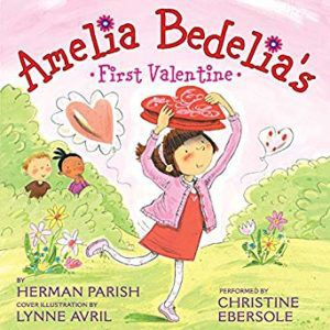 Amelia Bedelia audiobook cover