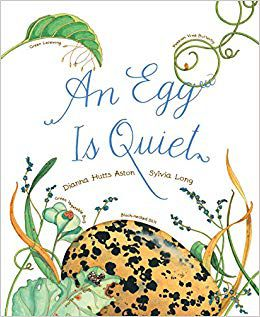 an egg is quiet book cover