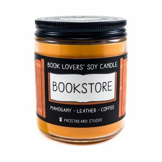 Bookstore Scented Soy Candle