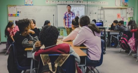 classroom school teacher students feature