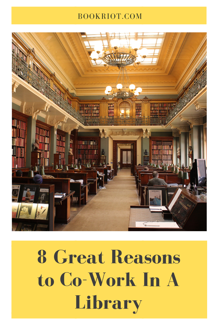 Why you should consider co-working in a library. co-working | libraries | libraries as co-working spaces | third places