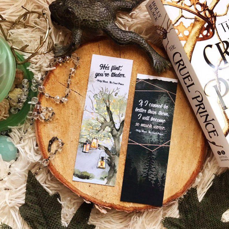 The Cruel Prince Quote Bookmarks