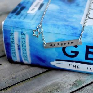 Error Message Necklace from Illuminae