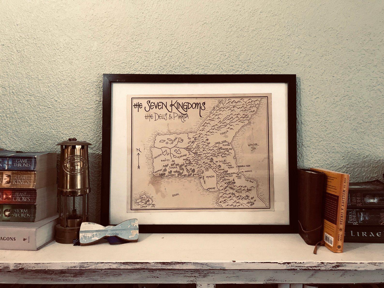 Graceling world map