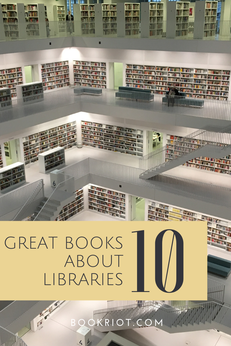 Dig into these fabulous books about libraries. book lists | libraries | books about libraries | books about books
