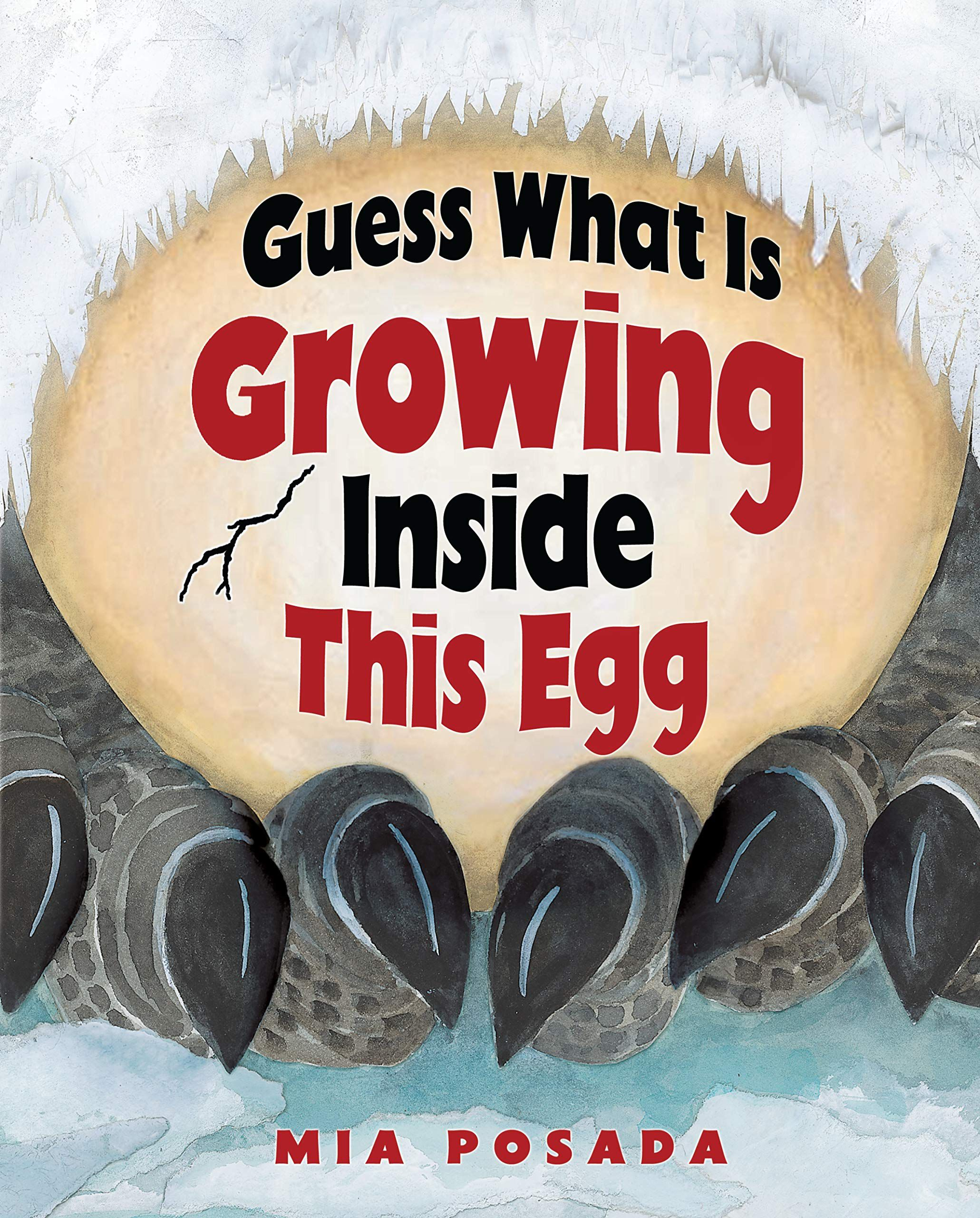 guess what is growing inside this egg book cover