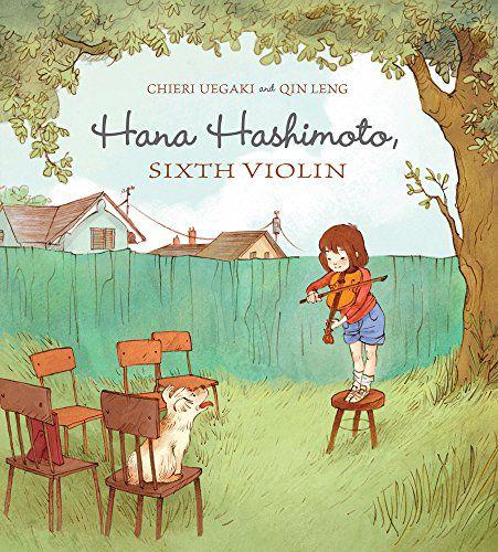 hana hashimoto sixth violin book cover
