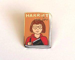 Harriet the Spy pin