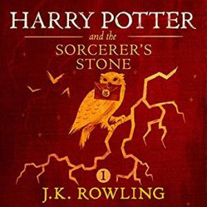 Harry Potter and the Sorcerer's Stone audiobook cover