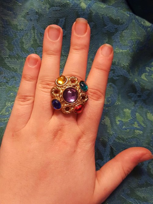 Get Your Own Infinity Stones Ring Book Riot