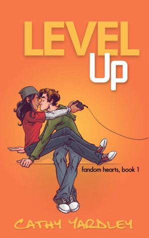 cover of level up by cathy yardley