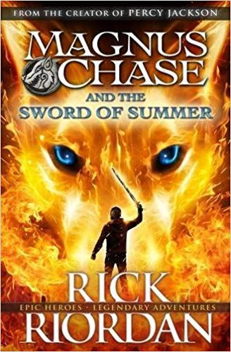 Magnus Chase and the Sword of Summer - fantasy books for 6th graders