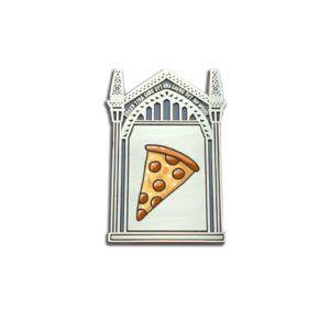 Mirror of Erised Pizza Pin