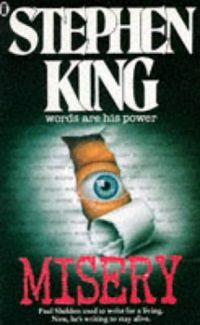Misery by Stephen King Cover New English Library