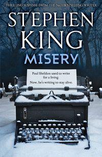 Misery by Stephen King Cover Hodder & Stoughton