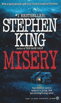 Misery by Stephen King Cover Signet MMP