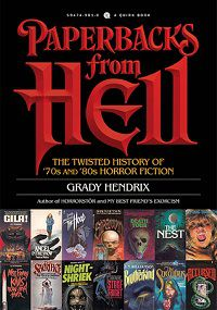 Paperbacks from Hell by Grady Hendrix cover