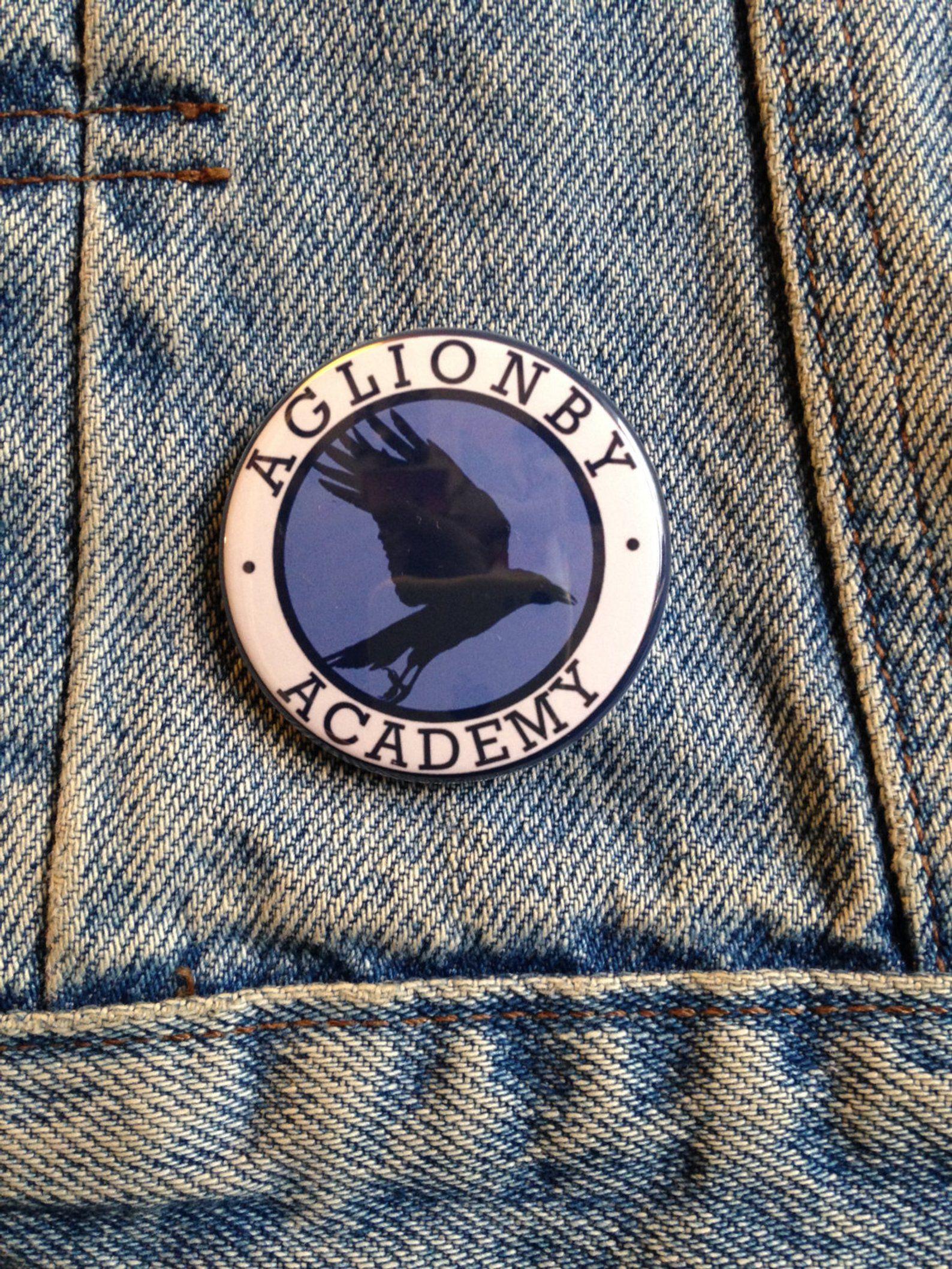 Raven Boys Aglionby Academy Pin