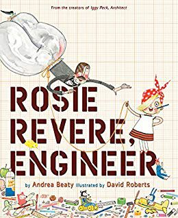 rosie revere engineer book cover