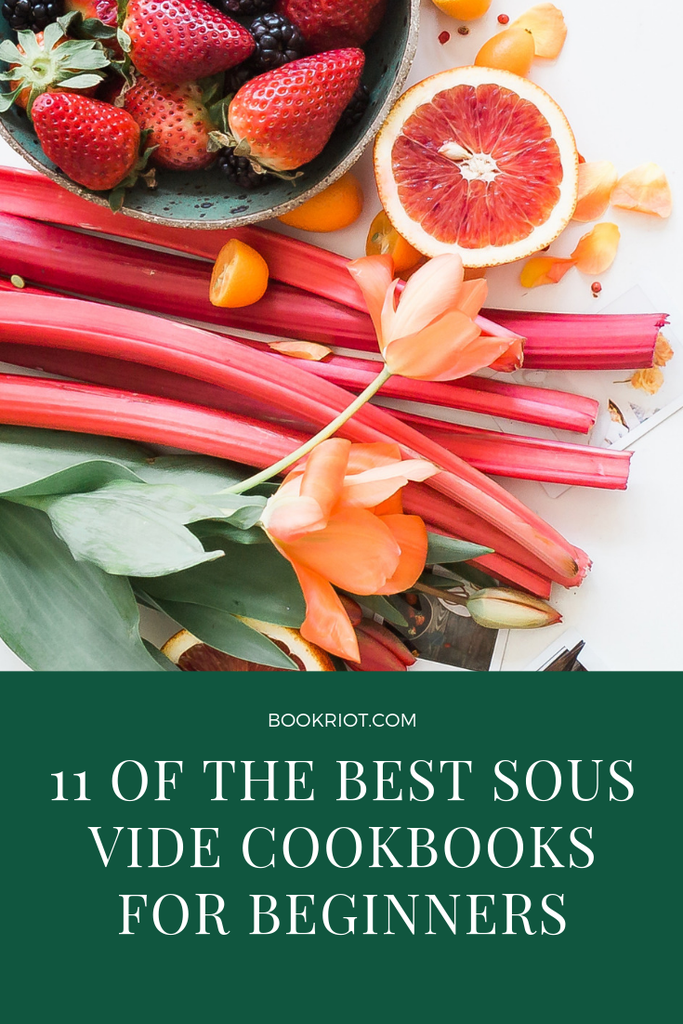 Want to sous vide but don't know where to begin? These cookbooks are perfect for beginners. book lists | cookbooks | sous vide cooking | sous vide cookbooks