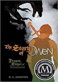 The Story of Owen by EK Johnston book cover