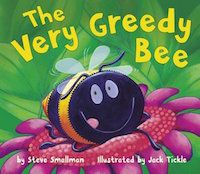 The Very Greedy Bee Book Cover
