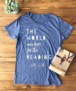 The World Was Hers for the Reading t-shirt