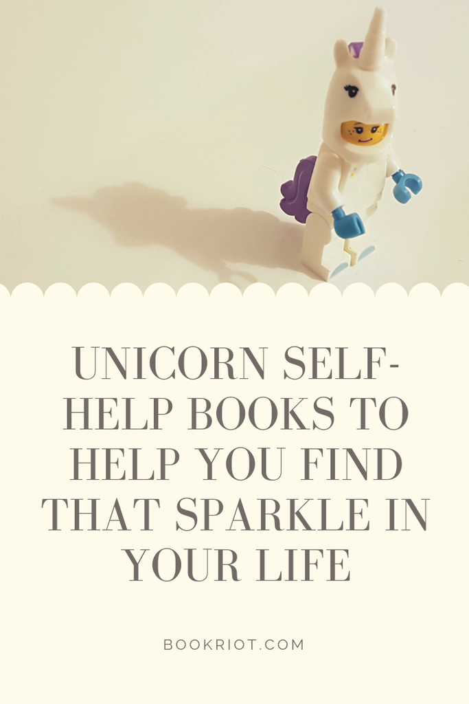These unicorn self-help books will help you find the sparkle in your life again. book lists | self help books | unicorn books | unicorn themed books | self improvement books | nonfiction books