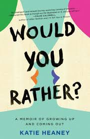Would You Rather? from Pride Reading List | bookriot.com