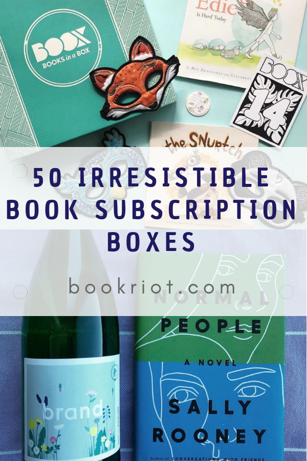 50 Best Book Subscription Boxes For Everyone | Book Riot