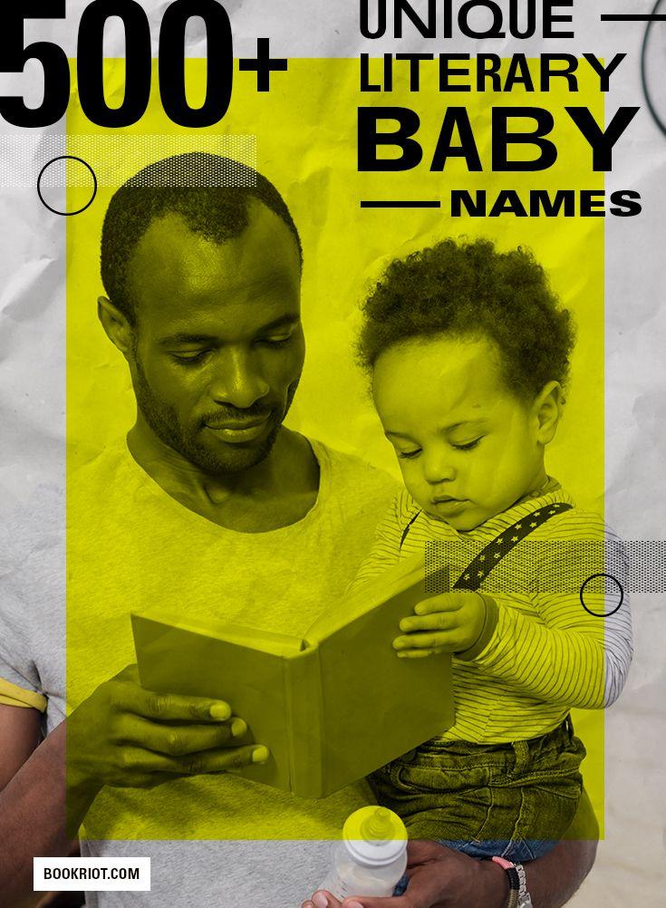 500 Literary Baby Names