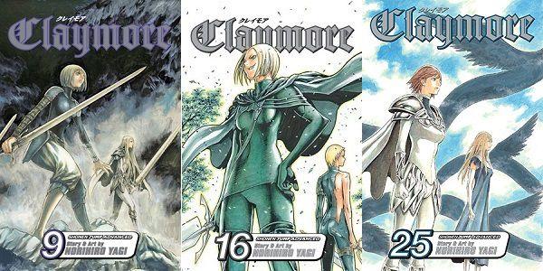 Claymore by Norihiro Yagi - The Manga Sisterhood of Claymores