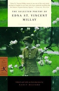 Edna St. Vincent Millay Selected Poetry cover in Best Poetry Books
