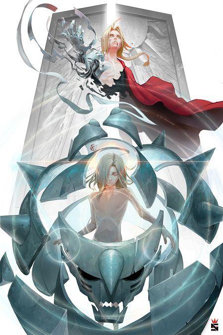 Fullmetal Alchemist manga art