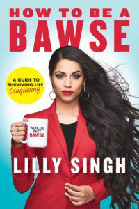 Capa de How to Be a Bawse, de Lilly Singh