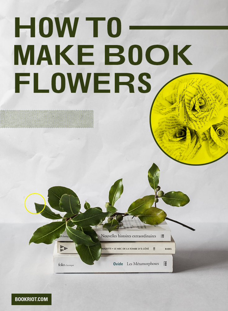 easy diy book page flowers – Elite Hall Publishing House