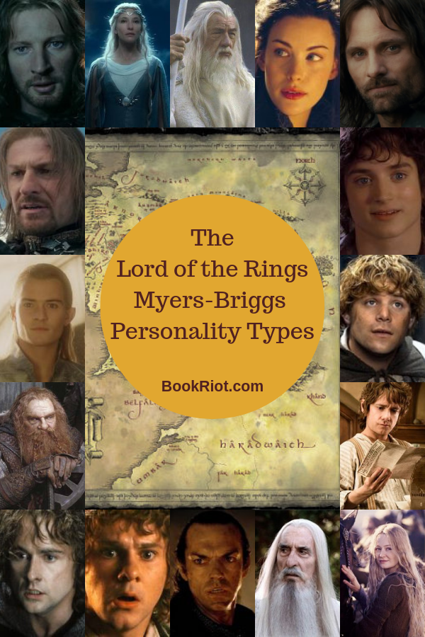Your Guide To The Lord Of The Rings Myers-Briggs Personality Types
