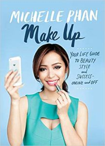 Cover of Make Up by Michelle Phan beauty YouTuber book