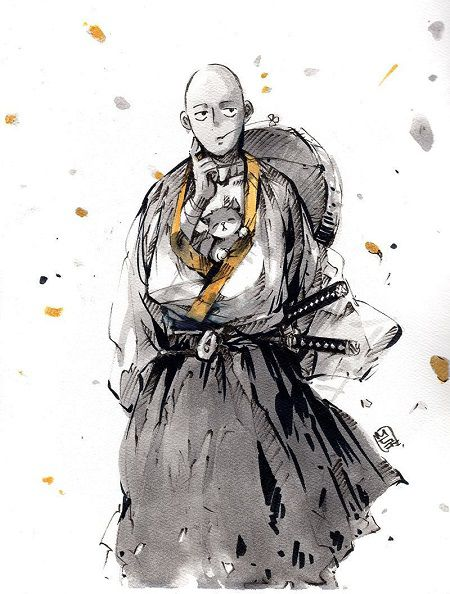 One Punch Man art