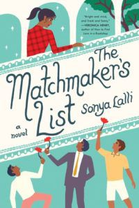 The Matchmaker's List by Sonya Lalli cover image