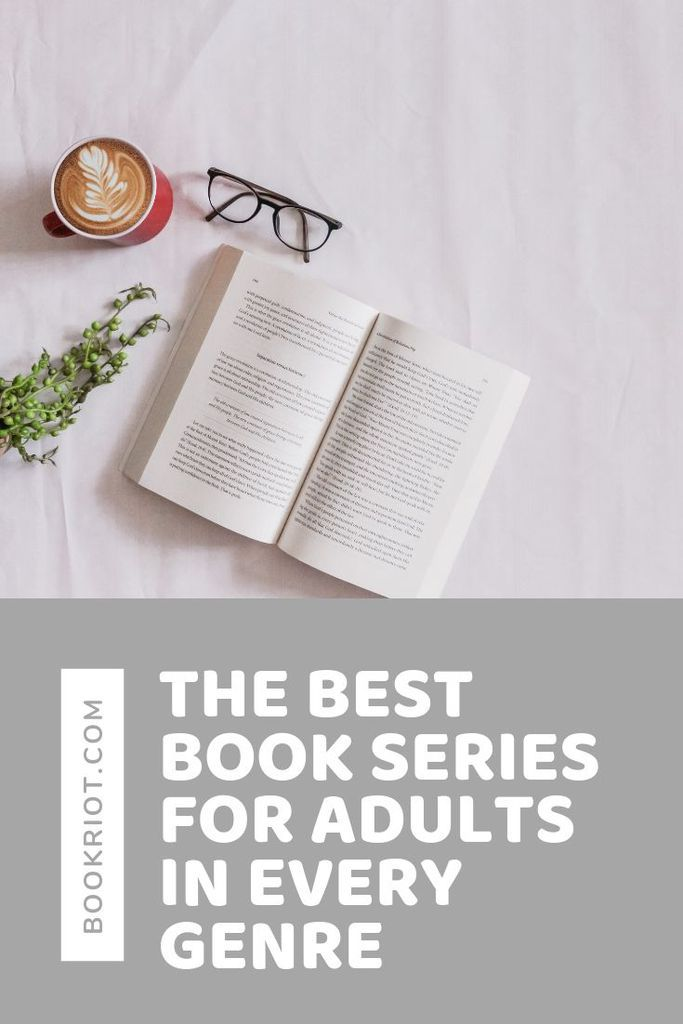 Pick up an excellent book series for adults, no matter what genre you love most (or try a new genre all together!). book lists | genre books | book series | best book series | best book series for adults
