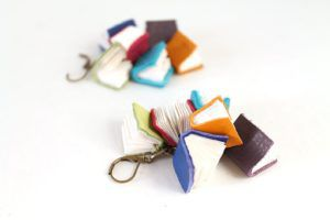 Book Cluster earrings