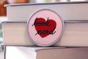 Book Nerd Patch