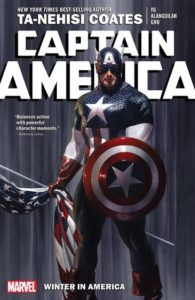 Captain America: Winter in America from New Comics by Novelists You Love | bookriot.com