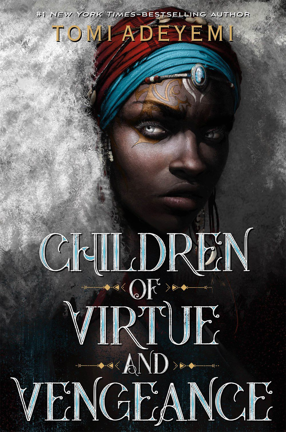 Children of Virtue and Vengeance by Tomi Adeyemi Book Cover