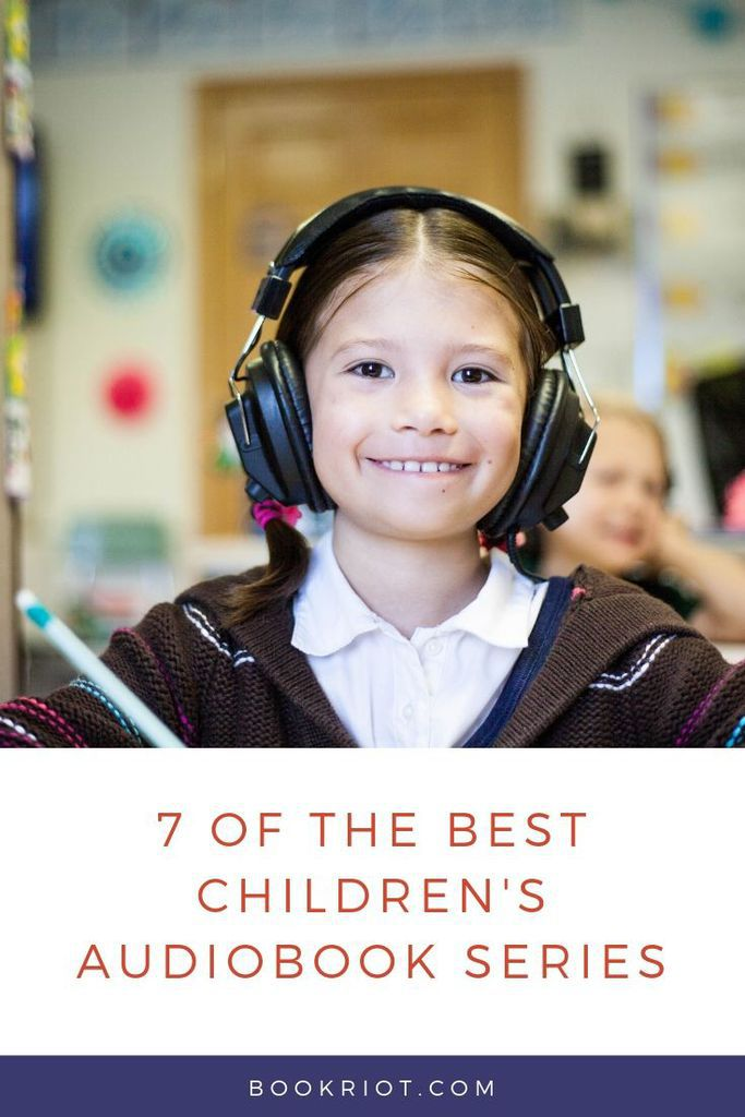 Listen in to these excellent children's book series on audiobooks -- introduce them to young listeners or revisit one of your own favorites. book lists | audiobooks | children's audiobooks