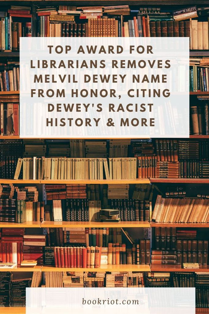 Citing Dewey's history of racism, antisemitism, and sexual harassment, the Council of the American Library Association votes to rename the Melvil Dewey Award, a top award for librarians. Learn about the decision, as well as how Dewey's legacy continues in libraries today. libraries | library news | melvil dewey | history of melvil dewey
